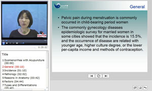 Dysmenorrhea with Acupuncture video course screenshot